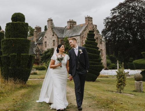 Fingask Castle Wedding Photography