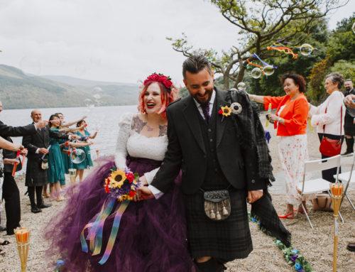 Firkin Point – Loch Lomond Wedding Photography