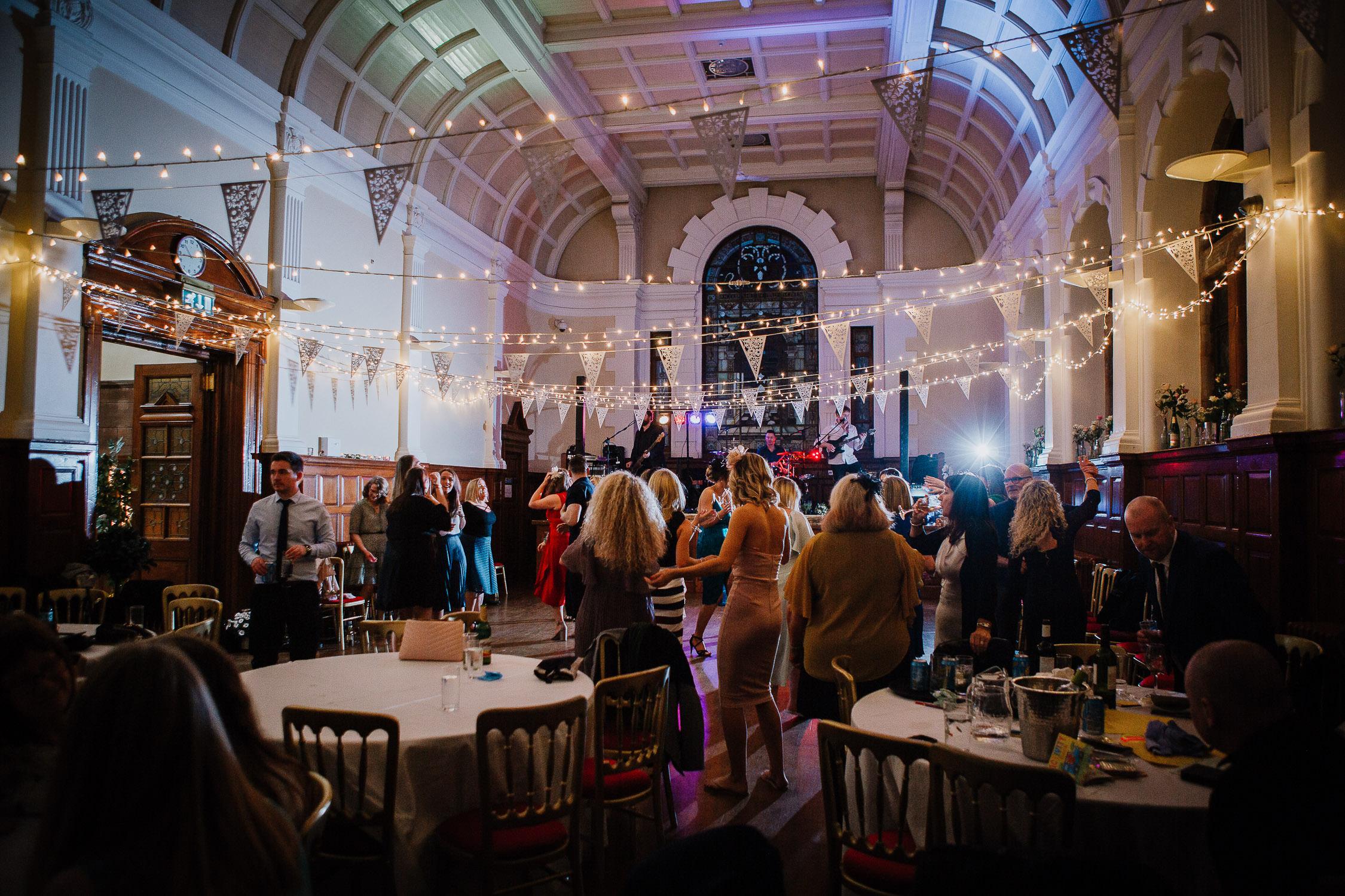 Wedding celebration in Glasgow
